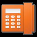 橘色电话机